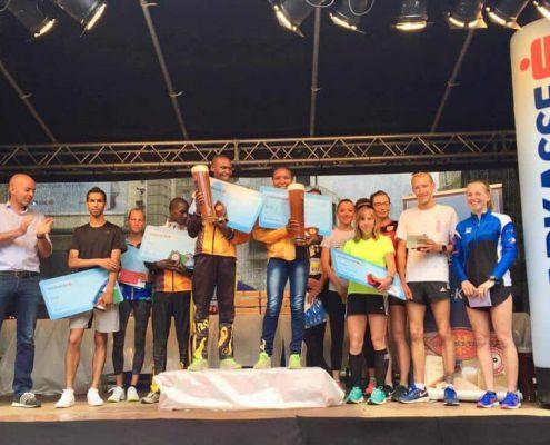 Die Sieger des Hauptlaufes in Innsbruck