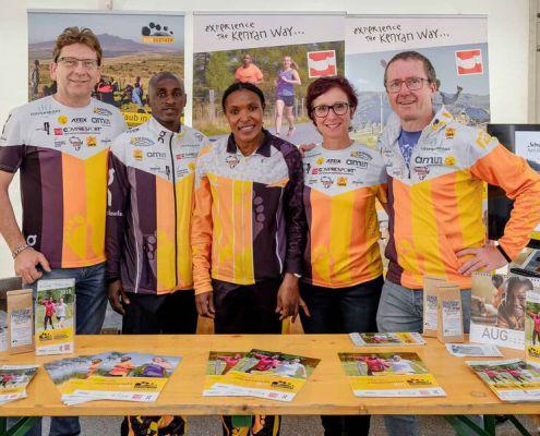 Das run2gether-Team bei fit&work der Frauen in der Wirtschaft Baden